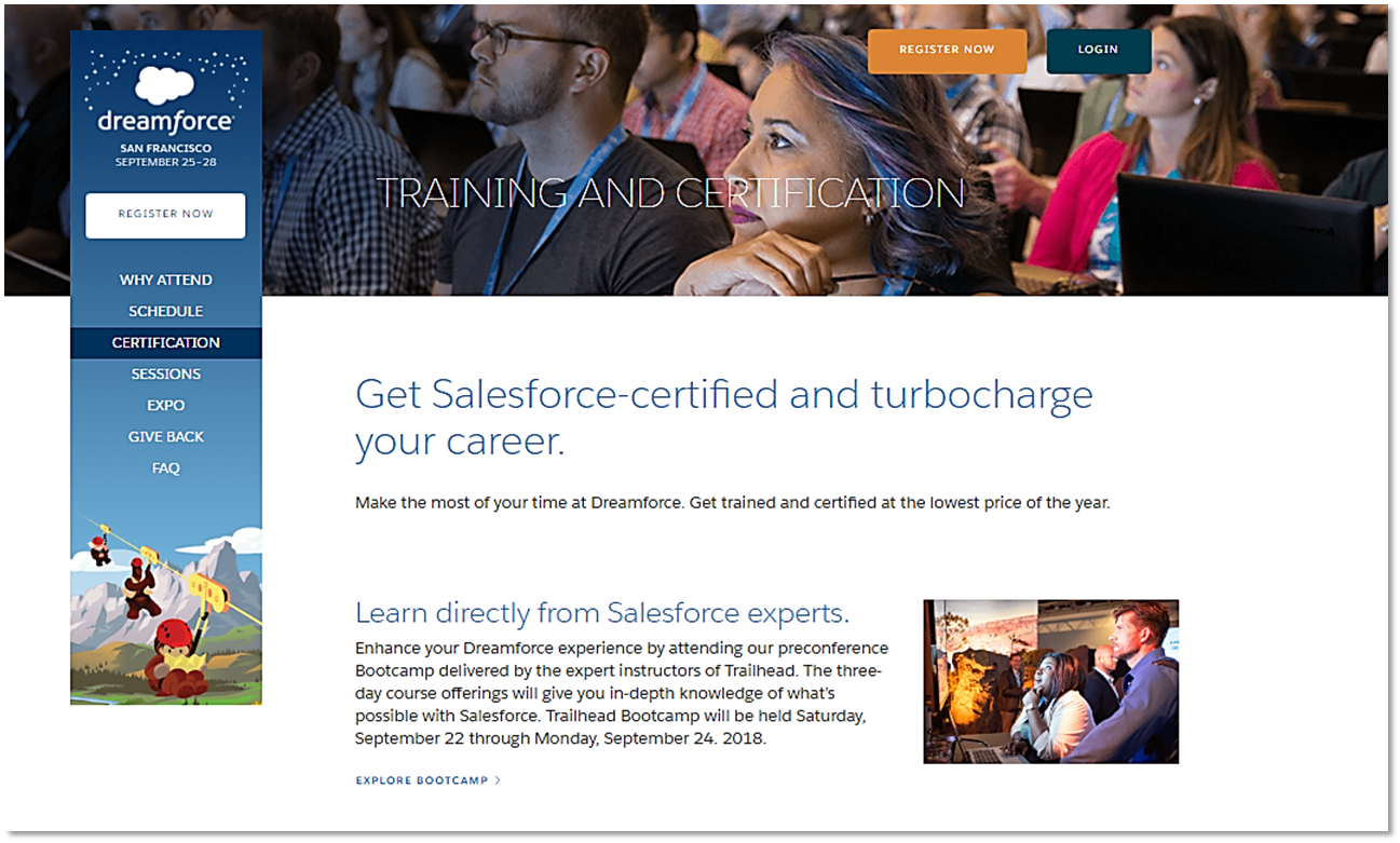 Turbocharge Your Career Why Getting Certified At Dreamforce Is A