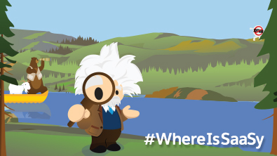 Where is SaaSy? At Dreamforce, of Course!