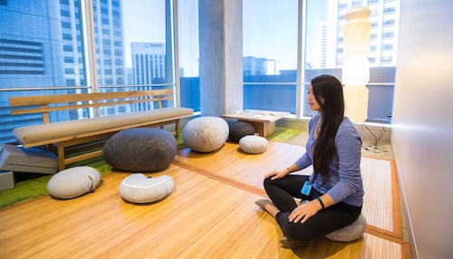Why One Salesforce Sales Team Makes Meditation A Priority