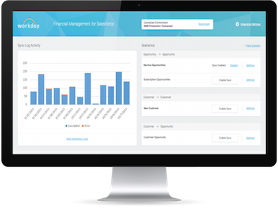 Workday Partners with Salesforce to Launch the Workday Financial Management Connector