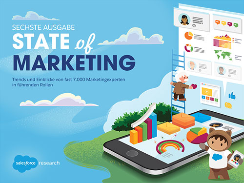Der Salesforce State of Marketing Report 2020 ist da!
