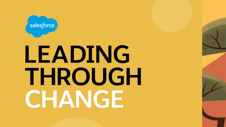 Leading through change graphic