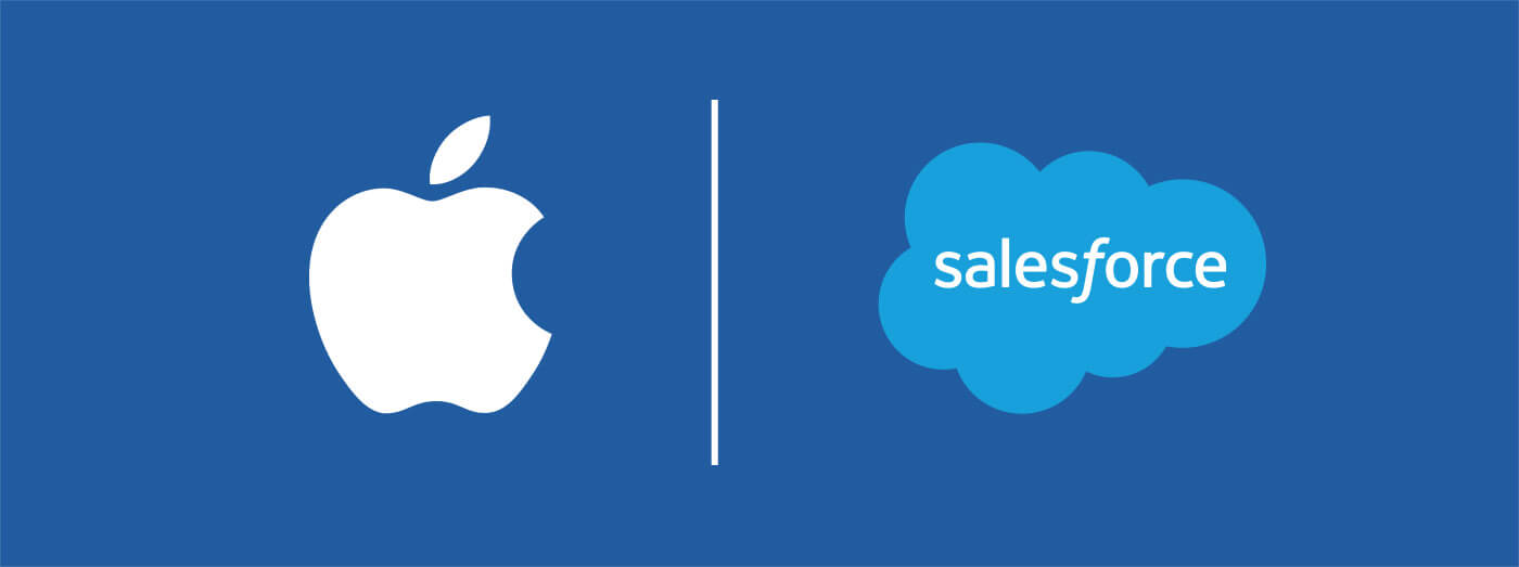 The connection between Apple, App Store & Salesforce: