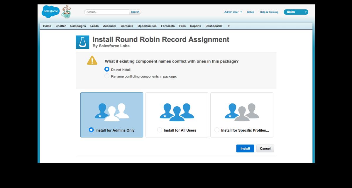 Install and configure a prebuilt app