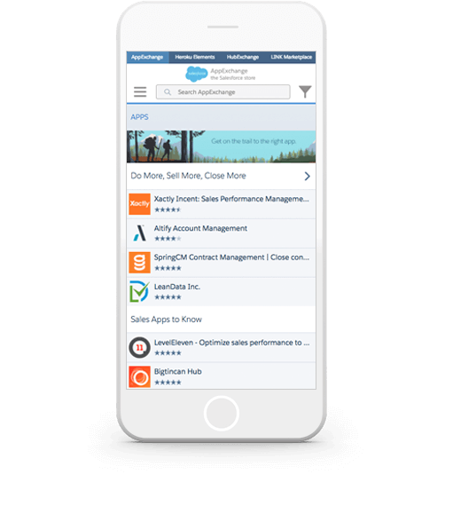 close your sales deals at lightning speed with salesforce mobile rh salesforce com Salesforce App Salesforce Icon