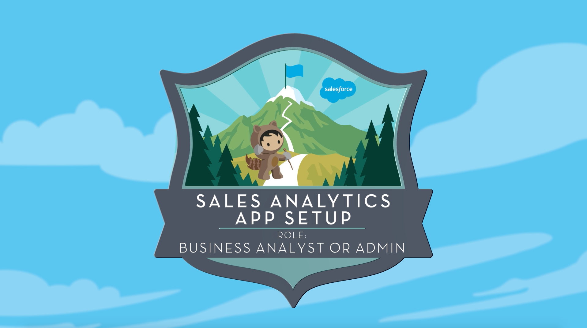Sales Analytics App Setup