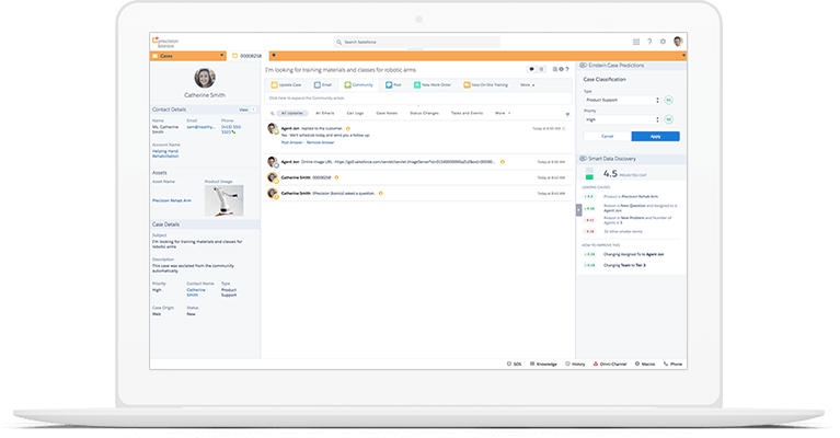 CRM có thể cải thiện trải nghiệm khách hàng của bạn trên các dịch vụ khách hàng, tiếp thị, v.v.