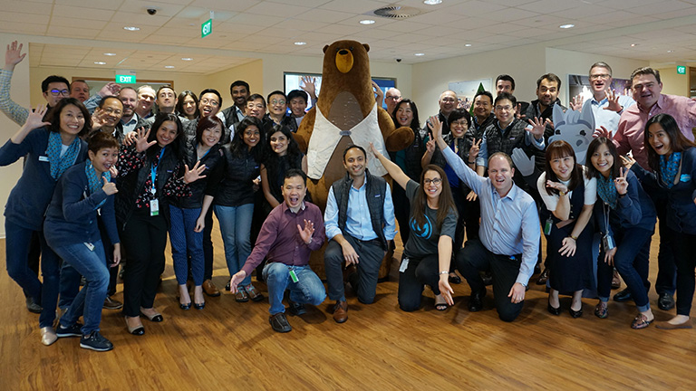 Sid and the Mulesoft team