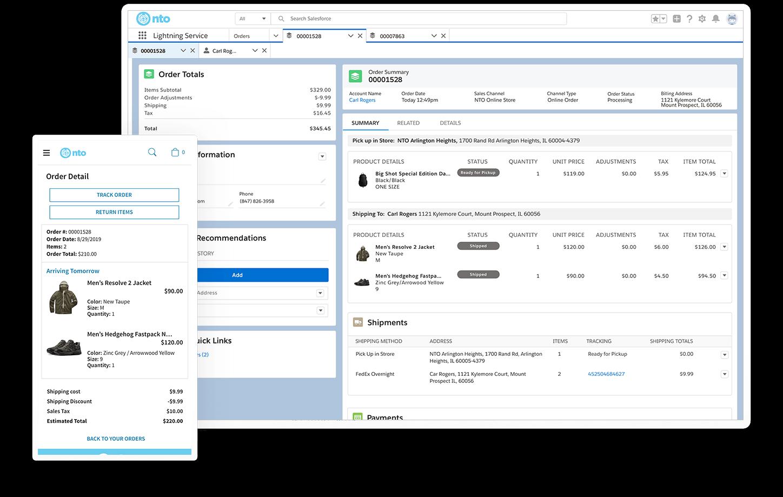 Order Management Software System From Commerce Cloud Salesforce Com