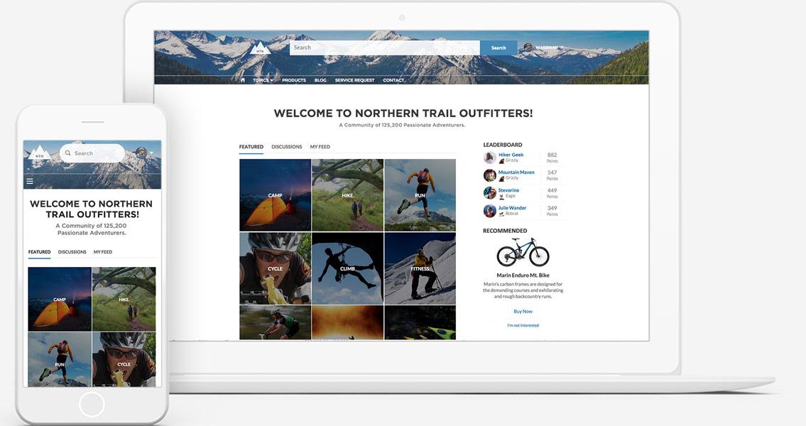enterprise community platform by community cloud