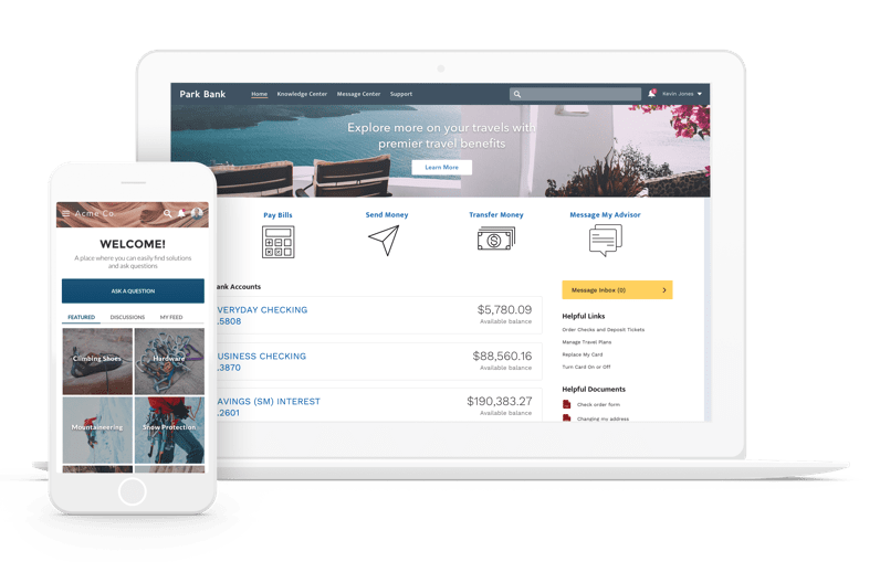watch communities demo customer self service software for service cloud