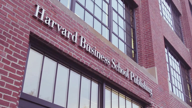 Go to the  Harvard Business publishing costumer story