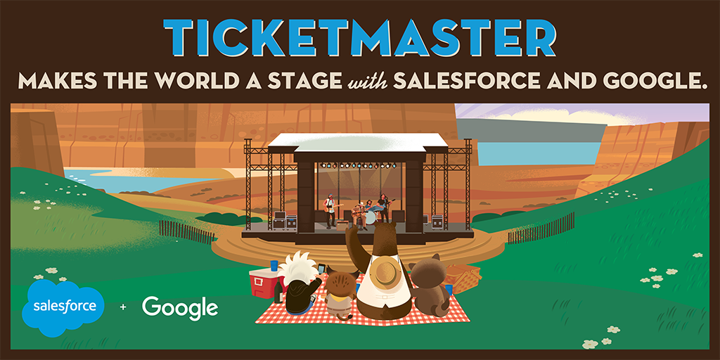 Ticketmaster makes the world a stage with Salesforce and