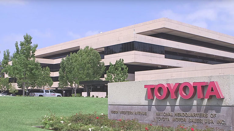 the success of toyota motor company Toyota motor company during the period from 1936 until 1943, toyoda only  made 1,757 cars instead, the company found greater success during this post- war.