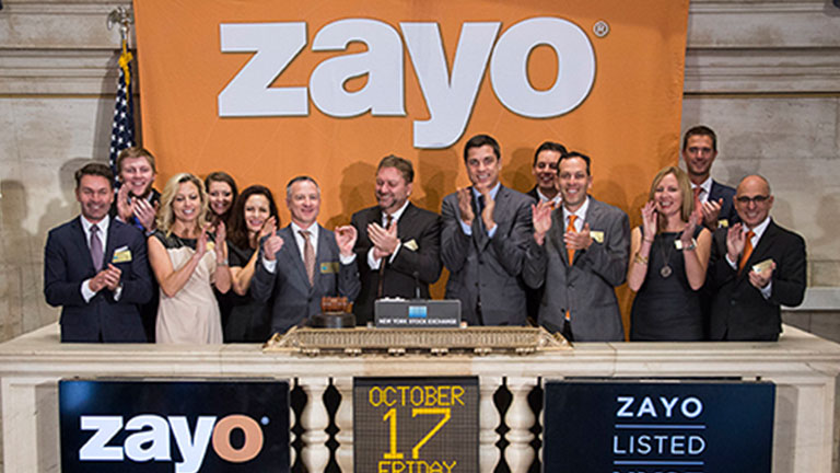 The cloud helps Zayo drive sales of telecom and bandwidth