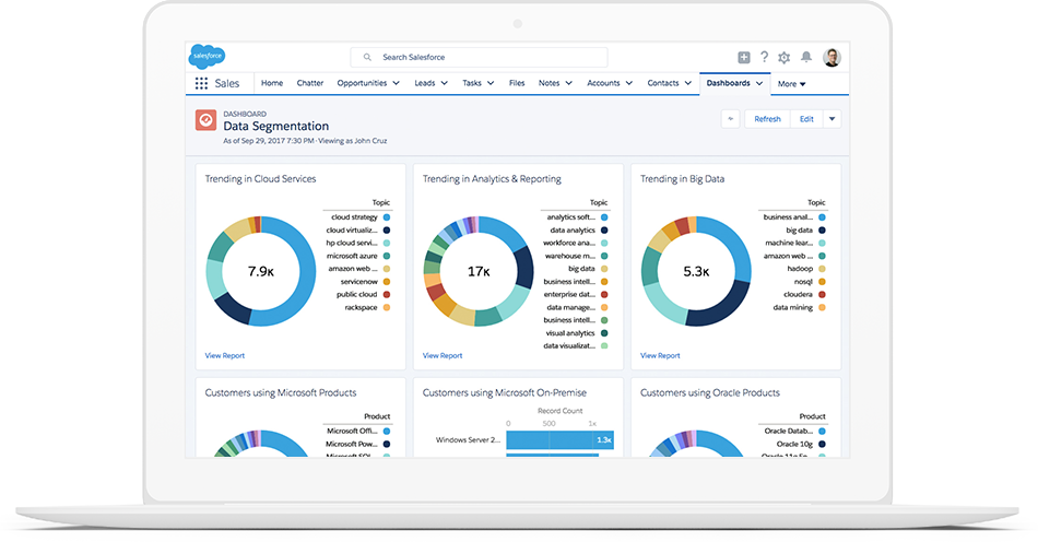 Lead tracking solutions within reach - Salesforce com