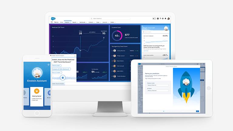 Salesforce Einstein: Artificial Intelligence Software and