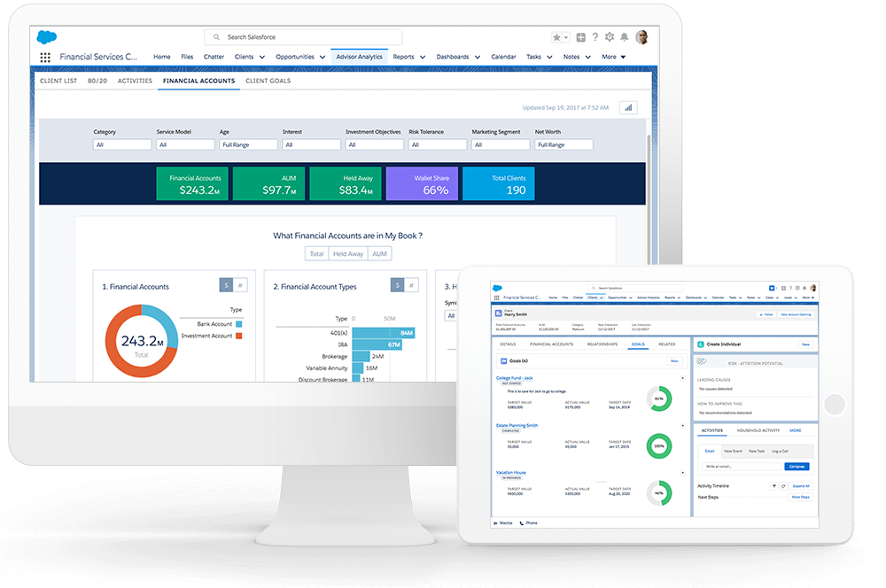 Wealth Management Software In The Cloud By Salesforce