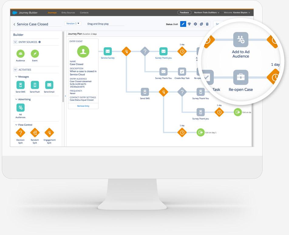journey builder でパーソナライズされた web 体験を顧客に届ける