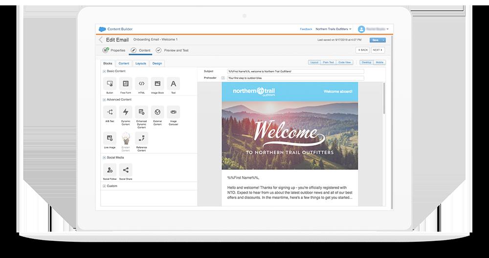 E-Mails erstellen & bearbeiten mit der Marketing Cloud von Salesforce