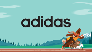 Adidas customer story graphic