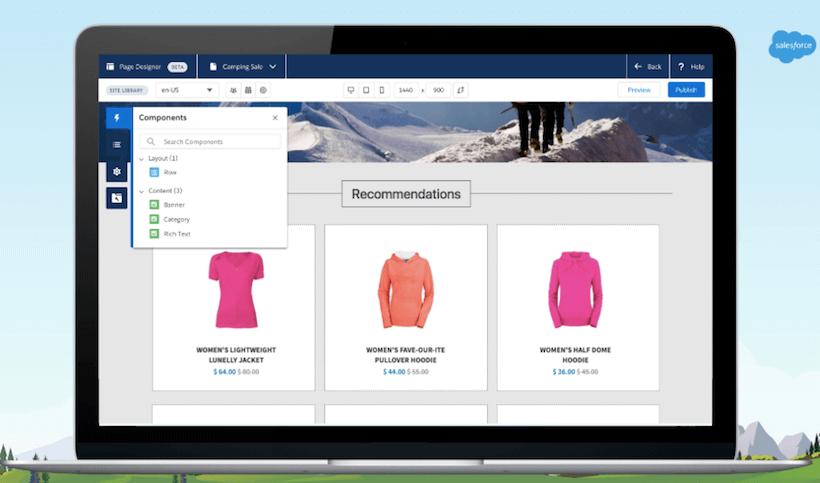 Introducing New Commerce Page Designer - Salesforce com