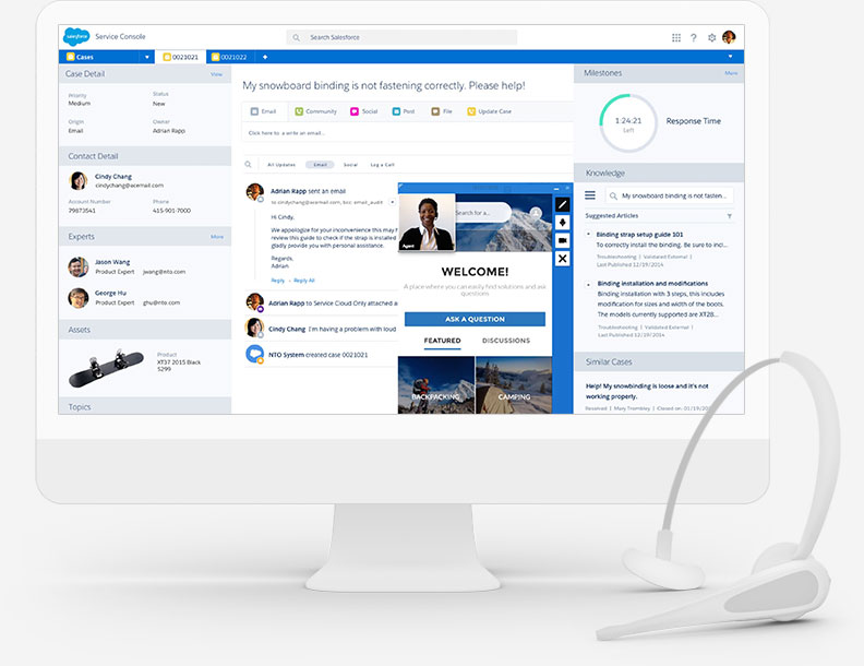 Salesforce Products and Business Solutions: The Customer Success ...
