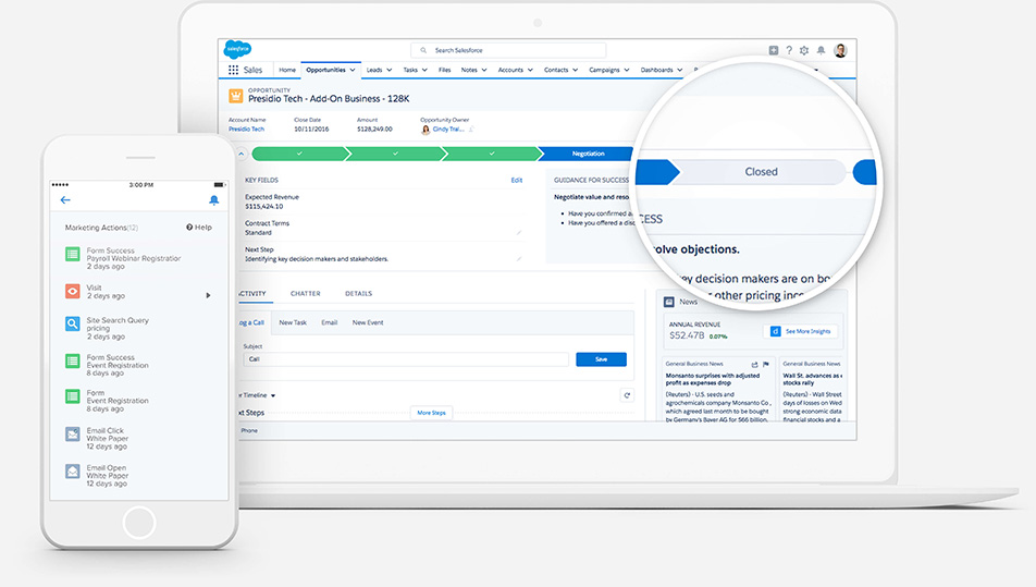Crm Features For Sales Cloud