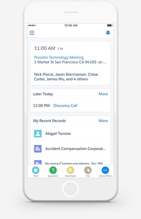 Learn about Salesforce1 Features & App Functionality