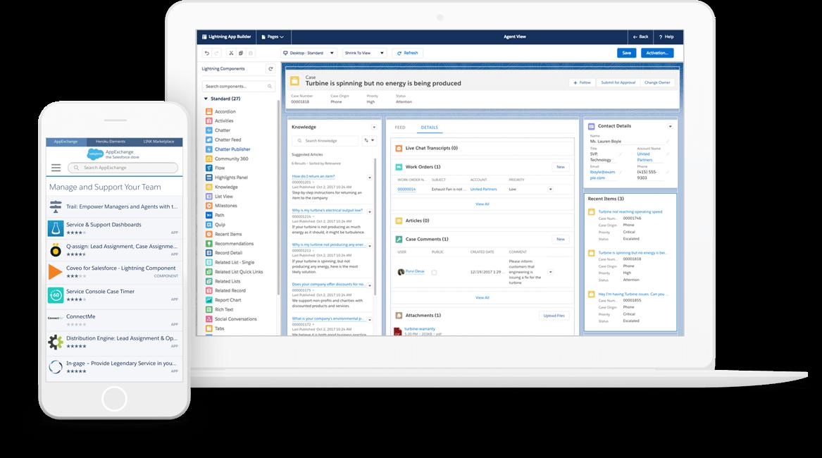 Get The Service Platform Advantage With Service Cloud By Salesforce