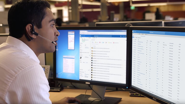 Video: Customer support application supports business growth.