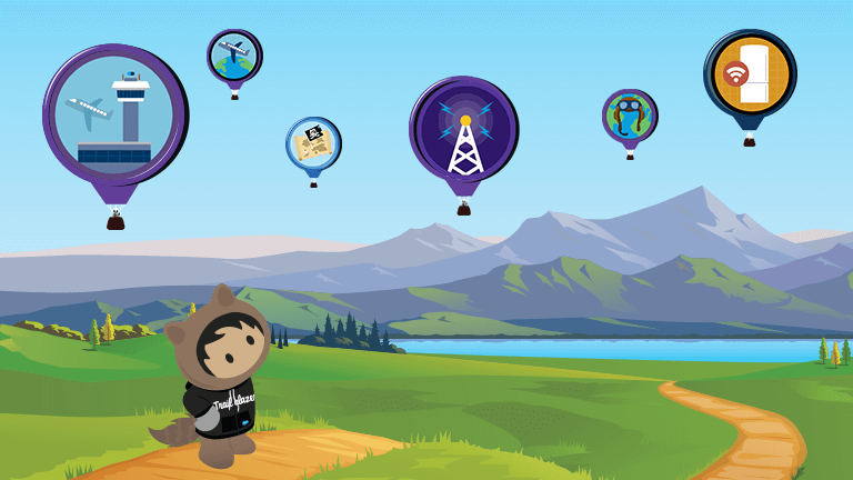 This way to customer success with Trailhead