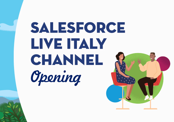 Arriva Salesforce Live Italy Channel